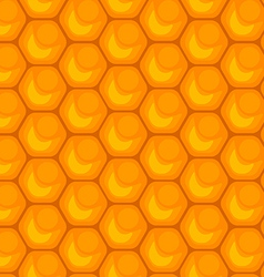 Honeycomb seamless pattern vector
