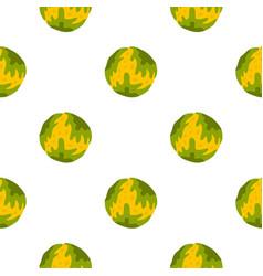 Little planet pattern seamless vector