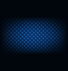 Quilted blue background vector