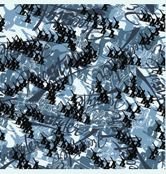 snowboard freestyle camouflage abstract background vector image