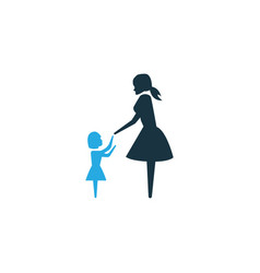 lady colorful icon symbol premium quality vector image