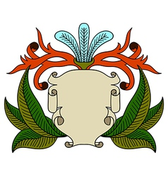 Vintage emblem badge vector