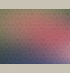 abstract background honeycomb blur color stars vector image