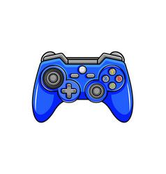 Game controller icon isolated digital gamepad vector