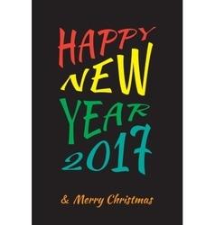 New Year Bakcground vector image