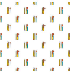 Pens pencil pattern seamless vector