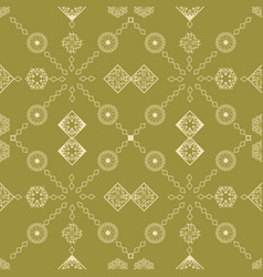 seamless repeat pattern vector image