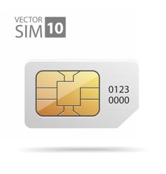 SimCard06 vector image