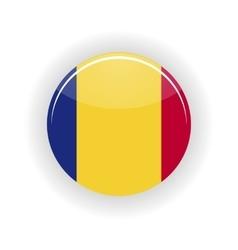 Romania icon circle vector