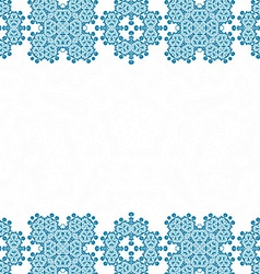 Damask Card Template vector image
