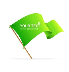 flag banner for text vector image