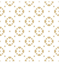 golden seamless pattern in oriental style white vector image