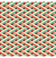 green chain link fence vector image vector image