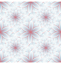 Seamless pattern with flower chrysanthemum vector image vector image