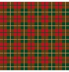 Scottish plaid pattern seamless vector image