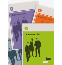 The magazine about business vector image