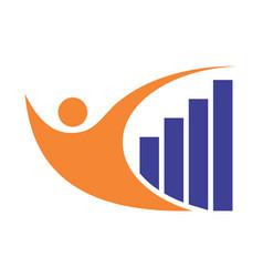 building concept abstract logo icon vector image
