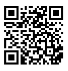 Classic qr code black and white scanning vector