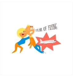 Fear Of Flying vector