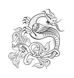 male mustachioed kite vector image