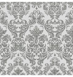 Seamless retro barocco background vector