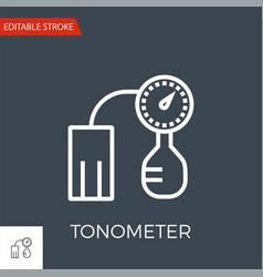 tonometer icon vector image