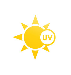Uv light icon vector
