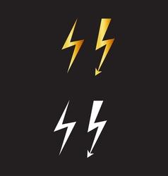lightnings resize vector image