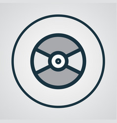 vinyl colorful outline symbol premium quality vector image