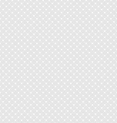 White Polka Dot Seamless Pattern Background vector image vector image