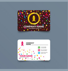 Start up icon startup business rocket sign vector