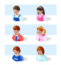 child icon vector image
