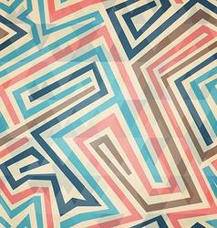vintage lines seamless pattern vector image