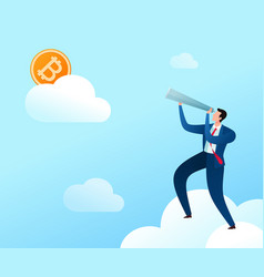 Aiming for digital currency vector