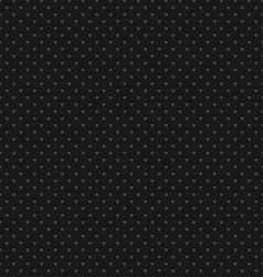 Black Polka Dot Seamless Pattern Background vector image