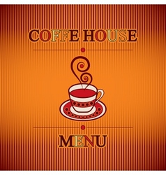 Coffe menu vector