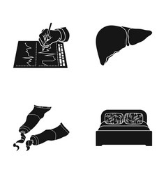 Design textiles medicine and other web icon in vector