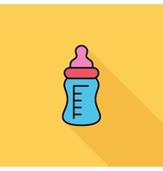 Feeding bottle vector image