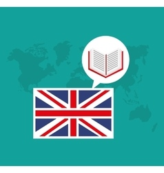 learn english education icons vector image
