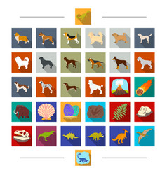 Nature archeology history and other web icon vector