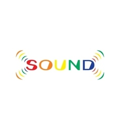 SoundText vector image