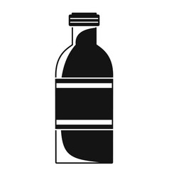 tomato bottle icon simple style vector image