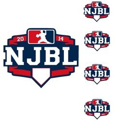 njbl logo vector image