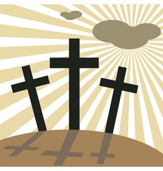 good friday easter vector image vector image
