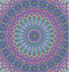 Abstract mandala ornament background design vector