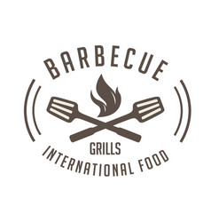 bbq barbecue grills international food imag vector image