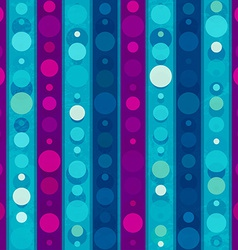 Bright circles seamless patern vector
