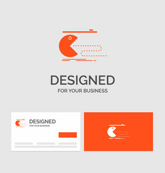 Business logo template for character computer vector