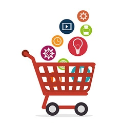 Ecommerce and shopping vector