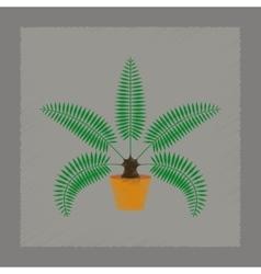 Flat shading style natural phoenix vector